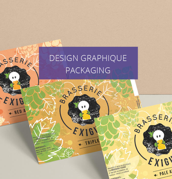 design graphique de packaging freelance a lille